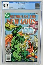 New Gods #16 (1978) CGC Graded 9.6 Gerry Conway DC Comics