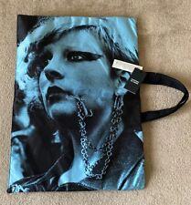 Raf Simons x Eastpak Main RS Poster Tote Bag Satin Oversized BlackPockets