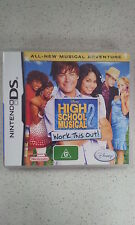 high school musical 2 work it out  DS
