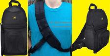 DELUXE SLING BACKPACK BAG CASE fit CAMERA NIKON D3200 D5000 D3000 D3100 D7000