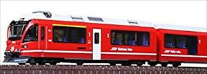 NEW Japan N gauge 10-1318 Rhatische Bahn Bernina Express Basic 5-Car Set