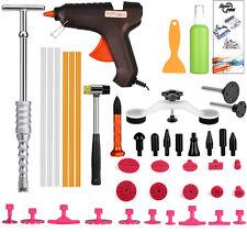 Pro Body Dent Removal Hail Repair Super PDR Tools Slider Hammer Glue Gun Set