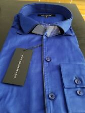 NEW Bogosse Men's size 2 or Small long sleeve button down shirt, very unique