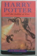 Harry Potter and the Goblet of Fire J K Rowling 1st 2000 Bloomsbury Wrapper