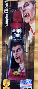 Rubies Vampire Blood 1 oz Tube. For All Your Fake Blood Needs. Fast Shipping.