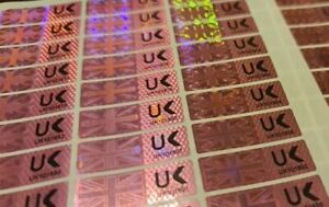 Hologram Warranty Void Proof Evident Labels Security Seal Stickers Numbered