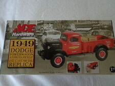 1st GEAR 1949 DODGE POWER WAGON 1/34 SCALE ACE HARDWARE 5th and final IN  SERIES