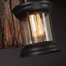 Antik Retro Vintage Industriell Holz Wandleuchte Wandleuchter Licht Wand Lampe!