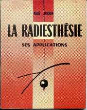 RADIESTHESIE - SES APPLICATIONS - Abbé Jurion - 1964