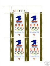 USA SC#2539 PB4 MNHOG POFRESH EAGLE OLYMPIC RINGS STAMPS S-352