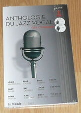 2 CD MONDE DU JAZZ N°42 ANTHOLOGIE JAZZ VOCAL - LES CROONERS - NEUF