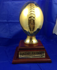 6 YEAR PERPETUAL FANTASY FOOTBALL TROPHY - FREE ENGRAVING! SHIPS IN 1 DAY!