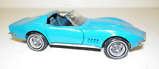 Franklin Mint 1968 Corvette With T Tops Diecast Model 1:24 Scale Excellent