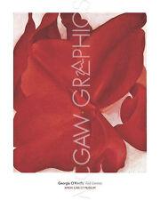 "O'KEEFFE GEORGIA - RED CANNAS, 1927 - ART PRINT POSTER 30"" x 24"" (253)"