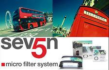 Lee Filters Sev5n Seven5 RF75 75x90mm Big Stopper, Starter Kit, Hood, Adapter