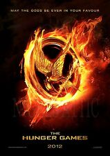 the HUNGER GAMES   A4  printed movie poster