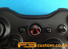 Custom XBOX 360 *Assassin's Creed Red Logo* Guide button