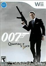 Wii James Bond 007: Quantum of Solace w/ book & Case TESTED