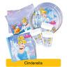 Disney CINDERELLA Princess Birthday Party Range - Tableware Decorations Supplies