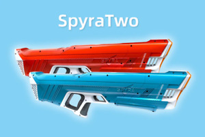 New Spyra Two Water Gun BLUE Version - David Dobrik TikTok READY TO FAST SHIP