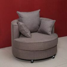 Fabric Up to 2 Seats Sofas with Swivel