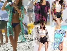 Chiffon Floral Cover-Up Swimwear for Women