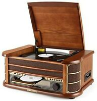 giradischi Majestic TT34CD/TP/USB convertitore radio lettore cd tapecassette usb