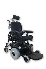 "Pride Quantum 1107 Black Electric Power Wheelchair | 13""x14"" Seat | Pediatric"