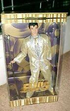 New ListingElvis Presley Timeless Treasures Doll Last In Series Gold Suit King Nrfb Barbie