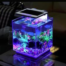 MWGEARS Cube Aquarium Kit (include Filter + LED Light), 15L A-255