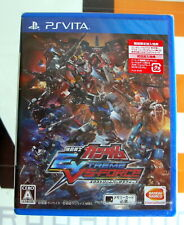 MOBILE SUIT GUNDAM EXTREME VS FORCE, SONY PLAYSTATION PS VITA, JAPAN MARKET, NEW
