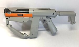 Playstation Motion/Move Controller Gun Adjustable Grey Shooter Light Gun