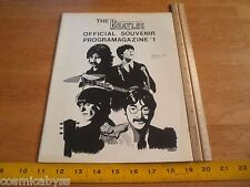 1978 The Beatles convention program New England fans 1st ORIGINAL magazine