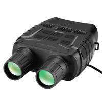 "2.3"" 4X Zoom Night Vision Binoculars Fliter Cover Photos Videos Camera FOV 10°"