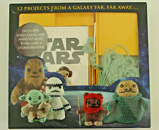 Disney Star Wars crochet kit 12 projects classic characters Yoda Stormtrooper