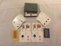 (2) 1960s Ferd. Piatnik & Sons Vienna Austria Playing Cards Decks with Jokers