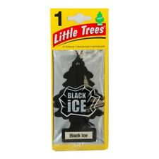 Little Trees Car Home Office Hanging Air Freshener Black Ice x 3 packs [EDS]