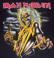 Vintage 1990S Iron Maiden Killers T-shirt M Black - Free USA Shipping!