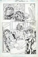 DV8 #27 page 2 Original Comic Art by Al Rio, Wildstorm Comics, 1999, Ivana Baiul