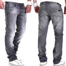 7 SEVEN for all Mankind Herren Jeans STANDARD Grau Winter SelvGrey Hellgrau NEU