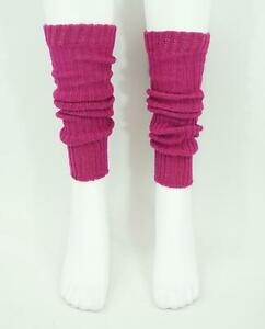 Womens Leg Welly Warmers Pink Sparkle One Size Fits All Girls Ladies Dance Ski