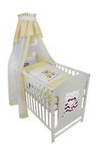 Babybett Kinderbett Lovery Bär 120x60 Bettset Matratze Design B4 Neu