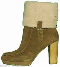 New Rockport Womens Courtly Fur Low Boot Size 9