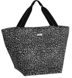 Scout Bags Weekender Travel Tote Bag XL Black & White Pattern Veronica NWT