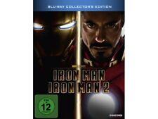 Iron Man / Iron Man 2 (Steelbook) [Blu-ray] [Collector's Edition] - SEHR GUT