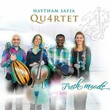 Haytham Safia Qu4rtet (Quartet) - Fresh Moods (2015)  CD  NEW/SEALED  SPEEDYPOST