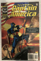 Marvel Comics Steve Rogers Captain America August 96