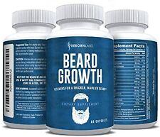 Tratamiento Para Hacer Crecer La Barba Pastillas 60 Capsulas