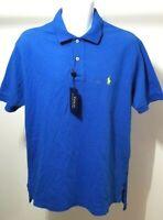 Ralph Lauren Men's Short Sleeve Dark Blue Polo Shirt Size L Tags $64.99