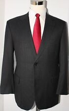 Brooks Brothers Gray Striped Wool Two Button Mens Suit 40 S Jacket 36 30 Pants